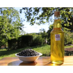 Olej słonecznikowy, tłoczony na zimno (Szklana butelka)