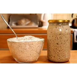 Starter na chleb mąka żytnia 500g + zakwas żytni 470g