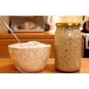 Starter na chleb - mąka żytnia 500g typ 2000 + zakwas żytni 470g + przepis